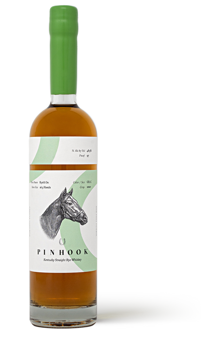 Buy Pinhook Rye'd On Kentucky Straight Rye Whiskey online at sudsandspirits.com and have it shipped to your door nationwide. Pinhook Rye'd On Kentucky Straight Rye Whiskey is the 2020 flagship rye release is the inaugural expression of Pinhook using our proprietary mashbill. Developed, distilled and aged over 2 years at Castle & Key Distillery in Frankfort, KY, our latest rye was blended and proofed by Sean Josephs, our Master Taster.