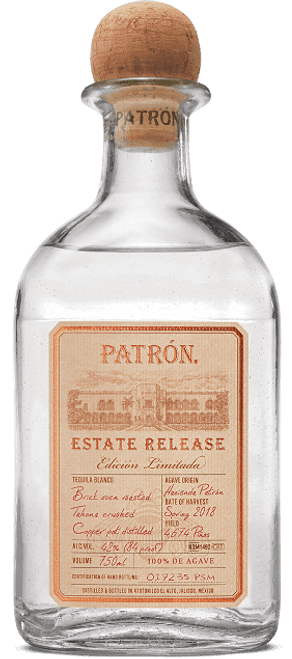 Buy Patrón Estate Release Limited Edition Patrón Tequila online at sudsandspirits.com and have it shipped to your door nationwide.Buy Patrón Estate Release Limited Edition Patrón Tequila is a limited-edition silver tequila was made from Weber Blue Agave cultivated on the grounds of the Hacienda Patrón distillery in Atotonilco el Alto, Mexico. This special terroir gives the spirit a robust and complex flavor featuring unique herbal and citrus notes.