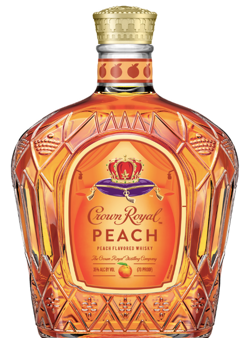 Buy Crown Royal Peach Whiskey online at sudsandspirits.com and have it shipped to your door nationwide. Crown Royal Peach Flavored Whisky is a new Limited Edition from Crown Royal, bringing some juicy sweetness to your summer season. To create this extraordinary blend, Crown Royal whiskies are carefully selected by our master blender and infused with the juicy flavor of fresh Georgia peaches. The result is a vibrantly delicious whisky, bursting with the luscious flavor of peach and the distinctive smoothness of Crown Royal. Enjoy Crown Royal Peach Whisky on the rocks or mixed with iced tea for a refreshing tasting cocktail.