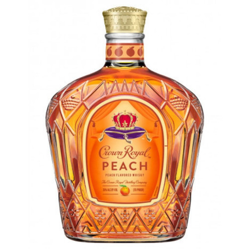 Enjoy Crown Royal Peach Whisky on the rocks or mixed with iced tea for a refreshing tasting cocktail.