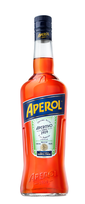 Buy Aperol  the perfect aperitif online at sudsandspirits.com and have it shipped to your door nationwide. Aperol is a classic Italian bitter apéritif made of gentian, rhubarb, and cinchona, among other ingredients. It has a vibrant orange hue, which is why it is often popular during the summer