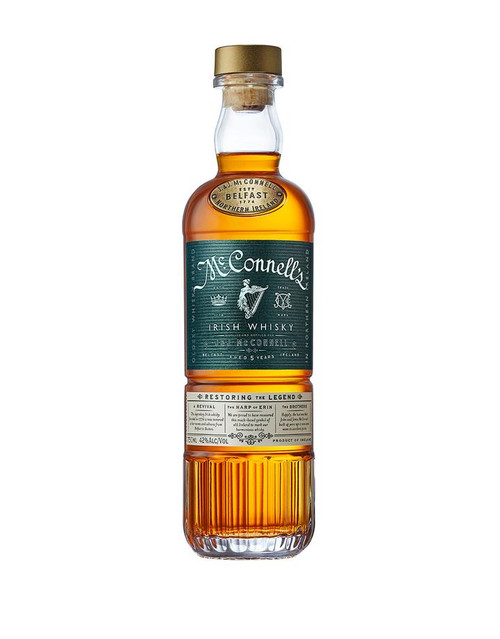 Buy McConnell's Irish Whisky online at sudsandspirits.com and have it shipped to your door nationwide
