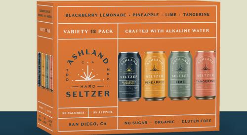 Ashland Hard Seltzer Variety 12 pack (12oz)