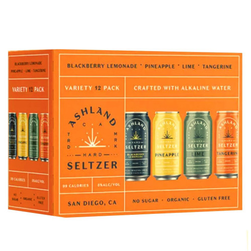 Ashland Hard Seltzer Variety 12 pack buy online at sudsndapirits.com
