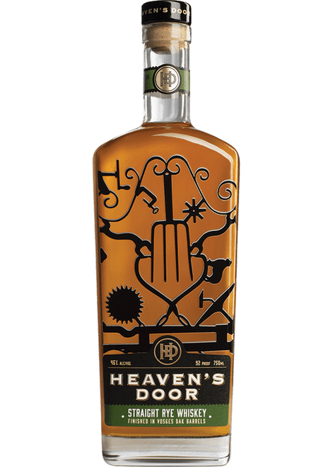 HEAVEN'S DOOR STRAIGHT RYE WHISKEY | 750ML