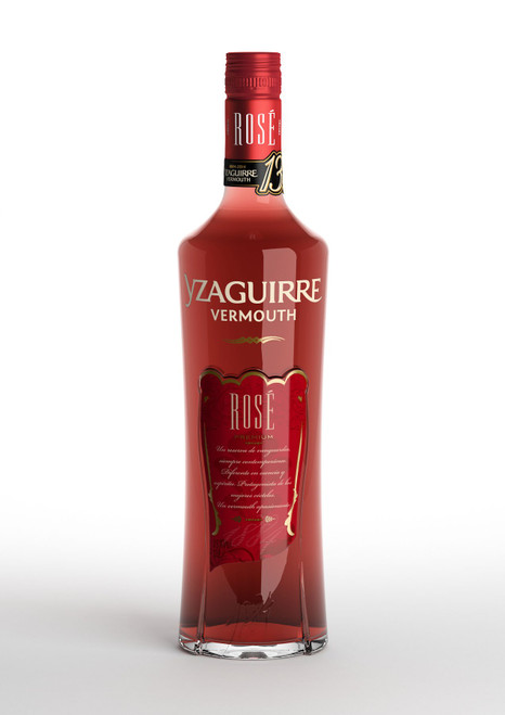 Yzaguirre Rosé Vermouth A bright cherry red in colour, Yzaguirre Rosé Vermouth is a light and sophisticated aperitif. Original in formula and essence; pink and delicate; cosmopolitan and contemporary. Velvety aromas of caramel and herbs with touches of mint. Refreshing and very smooth in the mouth.