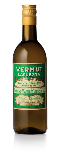 Lacuesta Extra Dry Blanco Vermouth  (750ml)