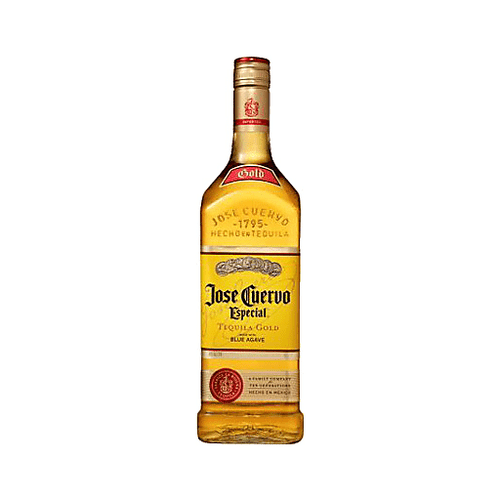 ESPECIAL GOLD Cuervo® Gold is golden-style joven tequila made from a blend of reposado (aged) and younger tequilas. Ever the story-maker, Cuervo® Gold's own story includes the leading role in the invention of The Margarita, and it is still the perfect tequila for that beloved cocktail.
