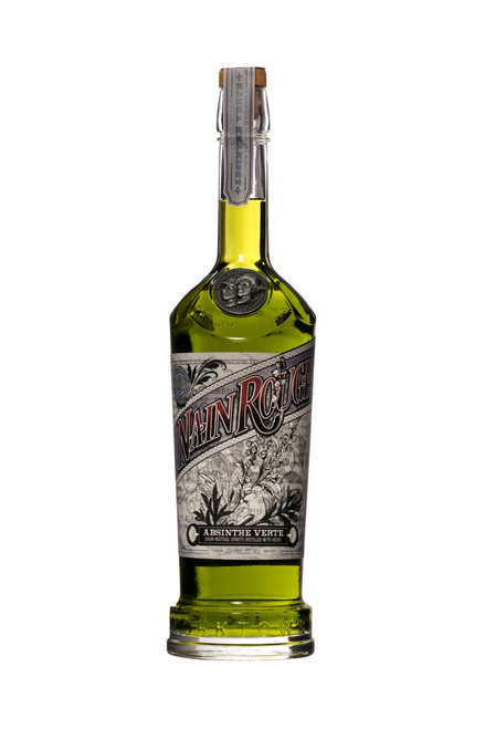 Two James Nain Rouge Absinthe Verte (750ml). We are excited to bring the Green Fairy to Detroit and the Great Lakes Region with the release of our Nain Rouge Absinthe Verte. Starting with a traditional 19th century French recipe we distill Wormwood, Fennel, Green Anise, and over 100 pounds of botanicals to create a spirit that has an unfathomable depth of flavor and complexity. Colored with peppermint, hyssop and nettle to produce a beautiful rich earthy green color.