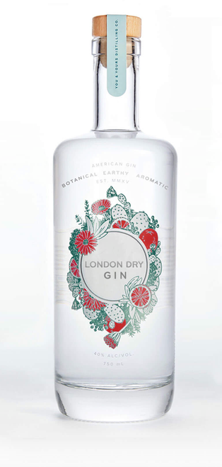 Y&Y London Dry Gin (750ml). Piney and spicy with a hint of citrus, Winter Gin is intended for your Friday evening martini. Distilled from grapes, bottled at 40% ABV.