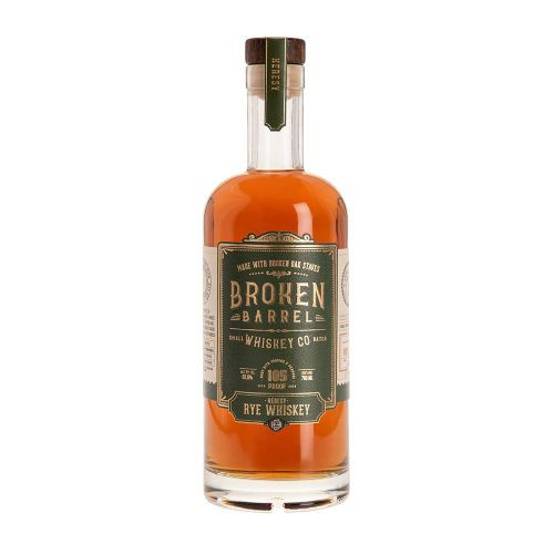 Broken Barrel Whiskey Heresy Rye (750ml).  This Rye whiskey is distilled in Owensboro Kentucky - just like our bourbon. However, it is unlike any rye whiskey you've ever tasted. Charred French oak gives a woody body to the spirit, while ex-bourbon (still soaked from the previous tenant) and ex-sherry cask staves all join forces to create a fiery, yet balanced and smooth taste and finish. We use the same proprietary Oak Bill™ to embolden this rye whiskey and give it an uncommon and untraditional taste and character.