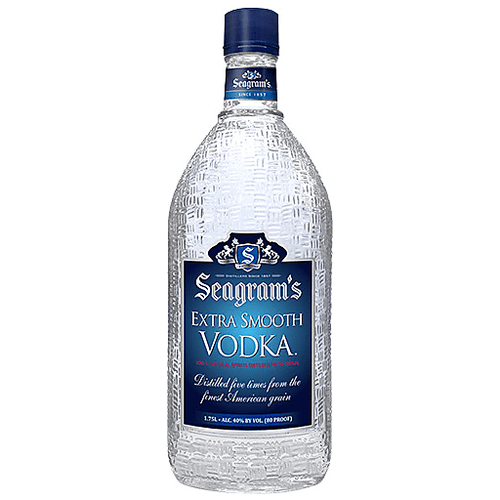 Buy Seagram's Extra Smooth 80 Proof vodka online at sudsandspirits.com and have it shipped to your door nationwide. Seagram's Extra Smooth Vodka is an away winning, five times distilled, clean and smooth tasting vodka. Seagram's vodka has been a brand consumers know and trust since 1857, representing quality and tradition. Seagram's is produced with high quality American grain.