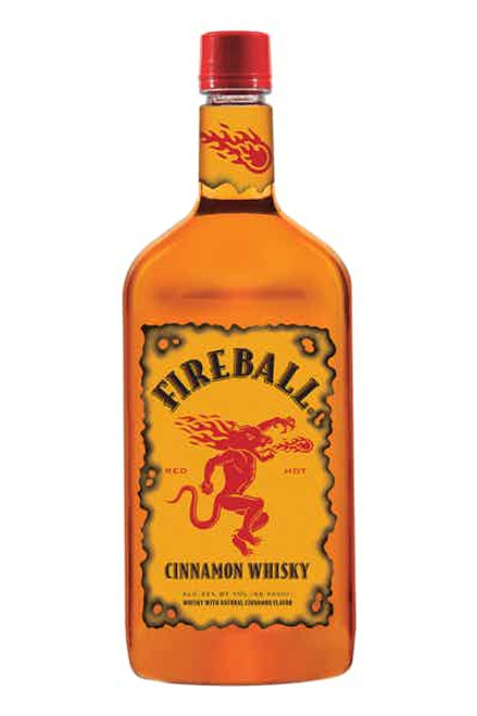 Fireball Cinnamon Whiskey Half Gallon (1.75L)