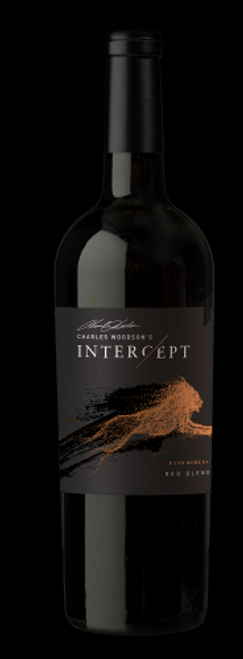 Buy Charles Woodson Intercept Wine Red Blend online at sudsandspirits.com and have it shipped to your door nationwide. Deep ruby in color with aromas of berry cobbler, savory herbs, and tobacco aged in French and Eastern European oak for 18 months. This wine is full-bodied with fine grained tannins on the mid-palate and a long spicy finish. Pair with smoked meats, burgers, or Spanish style tapas.  Aged in French and Eastern European oak for 18 months. Full-bodied with fine-grained tannins on the mid-palate and a long, spicy finish.