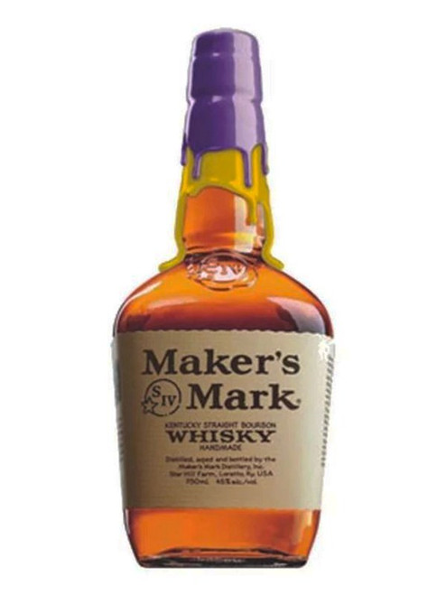 Perfect gift for lakers fans, order at sudsandspirits.com shipped to your door. The Limited Edition Maker's Mark Los Angeles Lakers Bottle, Double Wax Dipped for those diehard Laker fans! This limited edition bottling of Maker's Mark wax dipped with the famous purple and gold colors of the Los Angeles Lakers. A great gift or collectors edition for any and all Lakers fans who bleed purple and gold.  #kobe4ever #lakers #nba #basketball #kobebryant #kobe #lebronjames #losangeles #lebron #k #lakersnation #mambamentality #blackmamba #losangeleslakers #lakeshow #life #ripkobe #lalakers #nike #kingjames #sports #ballislife #la #lakernation #dunk #mamba #goat #jordan #anthonydavis #rip #bhfyp