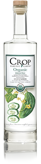 Buy Crop Organic Cucumber Vodka online at sudsandspirits.com and have it shipped to your door nationwide. Crop Organic Vodka is made starting with the purely finest ingredients available, our Crop Harvest Earth Vodkas are USDA certified organic, artisanal vodkas produced from grain grown on America's plains. Crop organic grain is harvested from fertile, healthy soil free of artificial fertilizers, pesticides and chemicals.