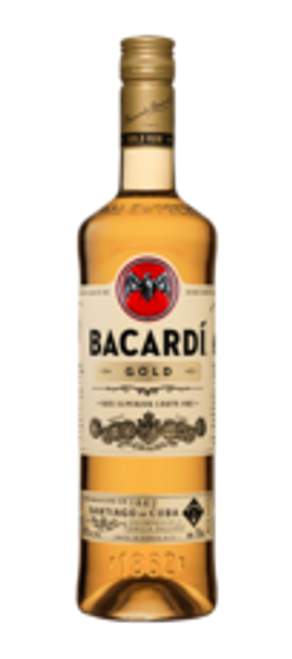 Buy Bacardi Gold Rum online at sudsandspirits.com and have it shipped to your door nationwide. Bacardi Gold Rum is bright gold colour; vanilla, butterscotch and lemon zest aromas; light fruit and toffee flavours; lightly spicy warm finish.