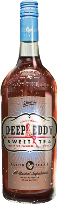 Buy Deep Eddy Orange Vodka online at sudsandspirits.com and have it shipped to your door nationwide. Deep Eddy Sweet Tea Vodka starts with original vodka, to which we add real, whole-leaf Indonesian Black Tea and sweeten with a hint of organic honey from a local Texas Hill Country apiary. Deep Eddy Sweet Tea Vodka was our first product, but like the rest of our vodkas, doesn't take itself too seriously!
