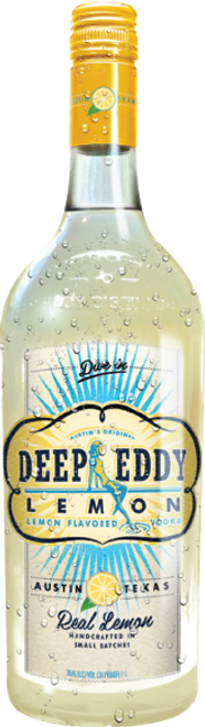 Buy Deep Eddy Lemon Vodka online at sudsandspirits.com and have it shipped to your door nationwide. Deep Eddy Lemon Vodka is made with real lemon juice and our silky smooth Deep Eddy Original Vodka and lightly sweetened with real cane sugar, Deep Eddy Lemon is like a ray of Texas Sunshine, bringing people together for good times.