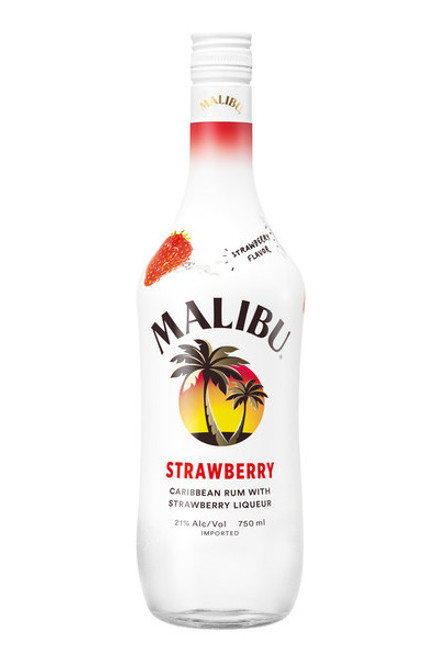 Buy Malibu Strawberry online at sudsandspirits.com and have it shipped to your door nationwide. Taste the berry best of summer with the latest addition to the Malibu flavor family, Malibu Strawberry! Bursting with sweet and smooth strawberry flavor, add a splash of soda for a refreshing sip of sunshine or blend Malibu Strawberry with ice for the ultimate Strawberry Frozen Daiquiri.