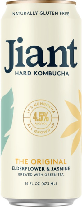 Buy Jiant Hard Kombucha online at sudsandspirits.com and have it shipped to your door nationwide.