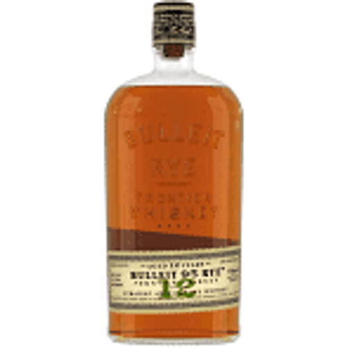 Bulleit Rye Aged 12 Years Whiskey   750ml