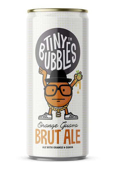 Buy Tiny Bubbles Orange Guava Ave online at sudsandspirits.com and have it shipped to your door nationwide. This is no ordinary beer. Brought to you by my friends from The Lost Abbey, this beer is 100% Brutus T Bubbles approved. Behold Tiny Bubbles Orange Guava. Crisp and refreshing with citrusy kick balanced with the tartness of Guava.