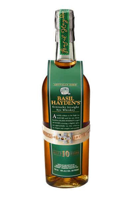 Buy Basil Hayden's Rye Aged 10 Years online at sudsandspirits.com and have it shipped to your door nationwide.