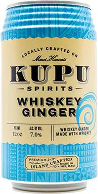 Buy Kupu Spirits- Whiskey Ginger online at sudsandspirits.com and have it shipped to your door nationwide.