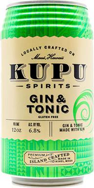 Buy Kupu Spirits- Gin & Tonic  online at sudsandspirits.com and have it shipped to your door nationwide.