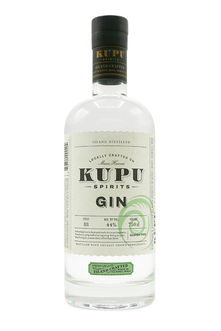 Kupu Spirits Gin (750ml)  Kupu Spirits Gin (750ml) 44%- Island Crafted Gin -