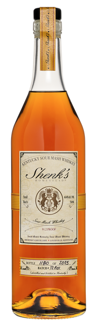Buy Shenk's Homestead Distillery Sour Mash Whiskey online at sudsandspirits.com and have it shipped to your door nationwide.