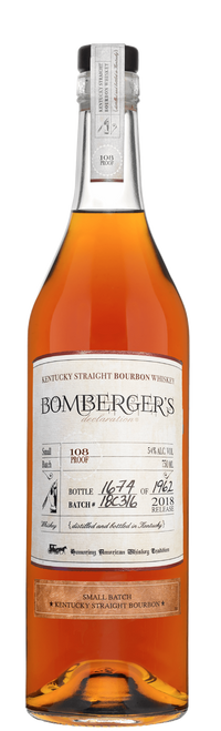 Buy Bomberger's Declaration Bourbon online at sudsandspirits.com and have it shipped to your door nationwide.