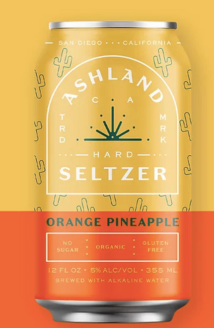 Buy Orange Pineapple  Ashland Seltzer  online at Suds and Spirits.  Online orders for nationwide shipping. sudsandspirits.com #ashlandhardseltzer #buyashland #orderashland #sudsandspirits