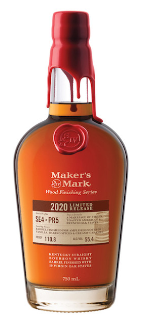 Buy Maker's Mark Wood Finishing Series 2020  limited release online at sudsandspirits.com and have it shipped to your door nationwide.