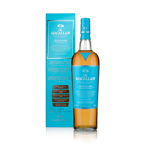 Buy The Macallan Edition No. 6 2020 release online at sudsandspirits.com and have it shipped to your door nationwide.