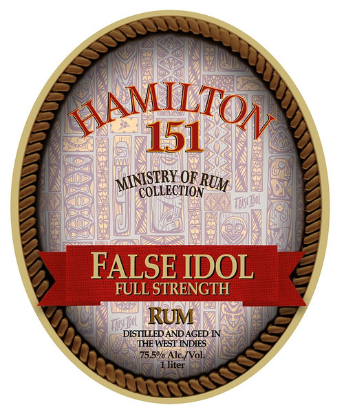 Buy Hamilton False Idol 151 Full Strength Rum online at sudsandspirits.com and have it shipped to your door nationwide.