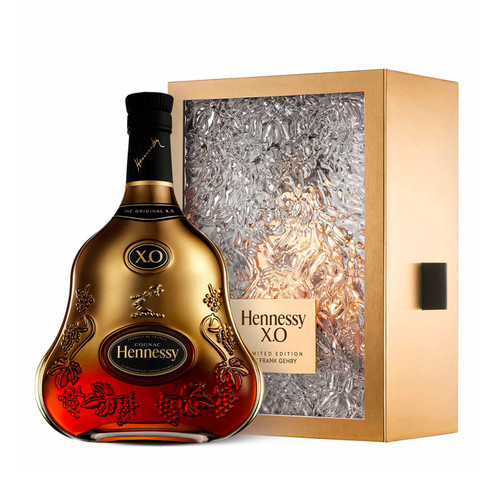 Buy Hennessy X.O X Frank Gehry Limited Edition online at sudsandspirits.com and have it shipped to your door nationwide.