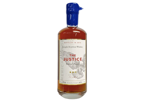 Buy The Justice 14 Year Old Bourbon Whiskey online at sudsandspirits.com and have it shipped to your door nationwide.