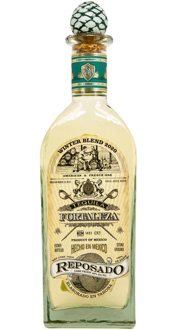 Buy Fortaleza Reposado Tequila Winter Blend 2020 online at sudsandspirits.com and have it shipped to your door nationwide