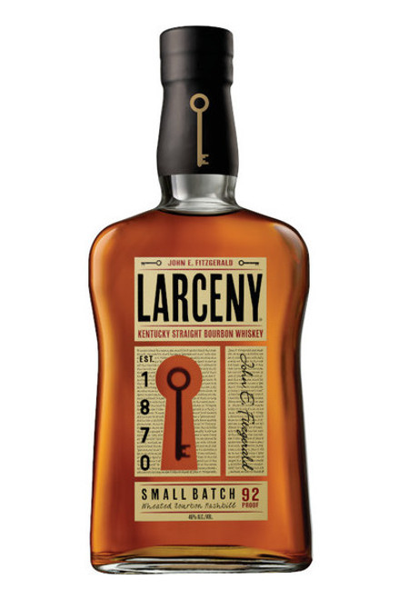 Buy Larceny Small Batch Bourbon online at sudsanspirits.com and have it shipped to your door nationwide.