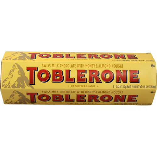 Buy Toblerone Swiss Milk Chocolate Bars online at sudsandspirits.com and have it shipped to your door nationwide