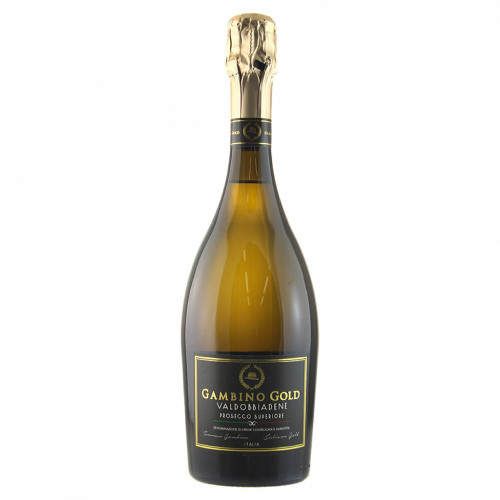 Buy Gambino gold Prosecco Brut  online at sudsandspirits.com and have it shipped to your door nationwide