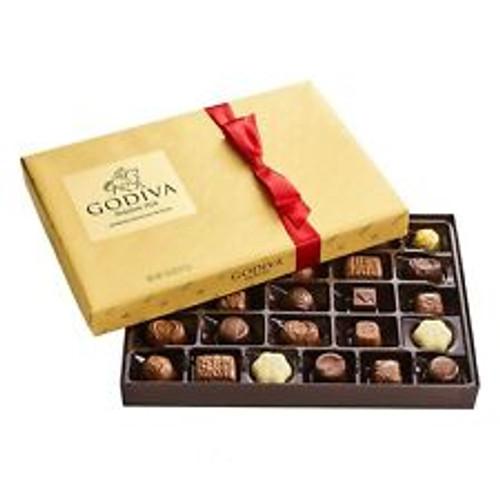 Godiva Holiday Premium Chocolate Variety Assorted Chocolates