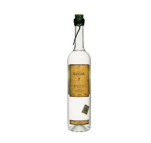 Ilegal Mezcal JOVEN Full bodied agave flavor. Light smoke, lingering heat. An ideal mezcal for cocktails or perfect on its own.