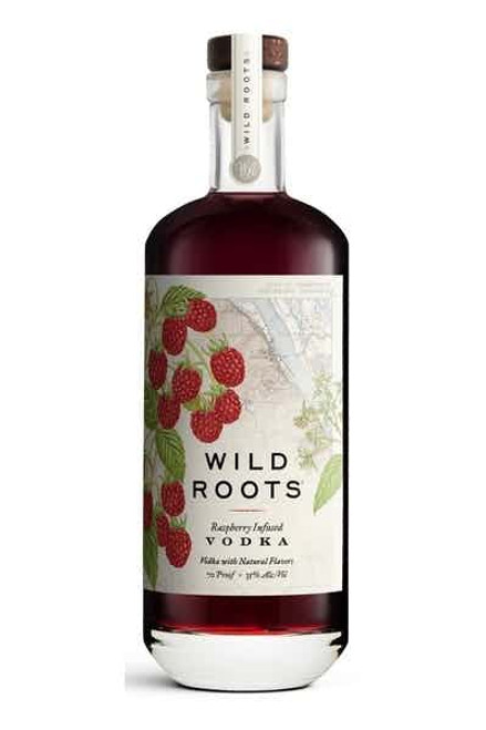 Buy Wild Roots Raspberry Infused Vodka online at sudsandspirits.com and have it shipped to your door nationwide.