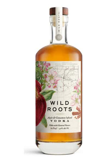 Buy Wild Roots Apple Cinnamon Infused Vodka online at sudsandspirits.com and have it shipped to your door nationwide.