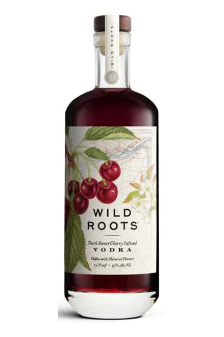 Buy Wild Roots Dark Sweet Cherry Infused Vodka online at sudsandspirits.com and have it shipped to your door nationwide.