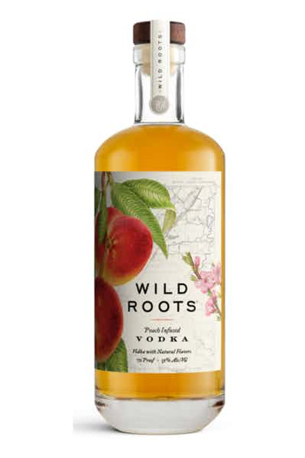 Buy Wild Roots PeachInfused Vodka online at sudsandspirits.com and have it shipped to your door nationwide.