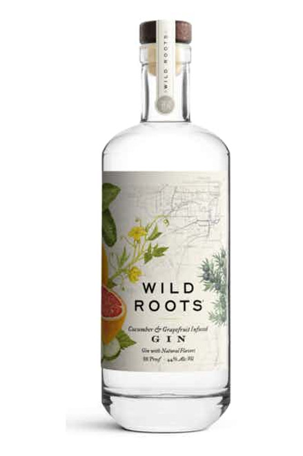 Buy Wild Roots Cucumber & Grapefruit Gin online at sudsandspirits.com and have it shipped to your door nationwide.